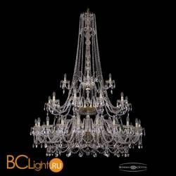 Люстра Bohemia Ivele Crystal 1411/20+10+5/530/h-202/3d/G