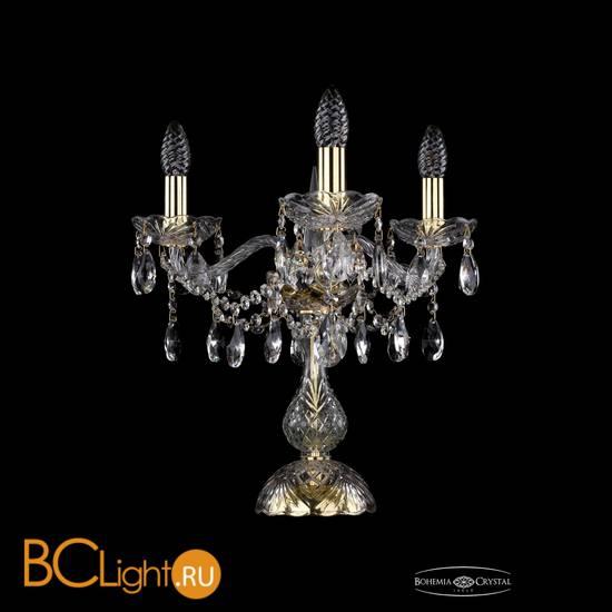 Настольная лампа Bohemia Ivele Crystal 1413L/3/141-39/G