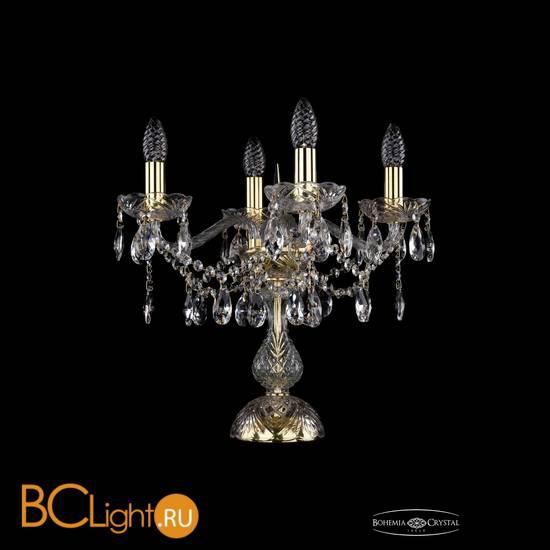 Настольная лампа Bohemia Ivele Crystal 1413L/4/141-39/G