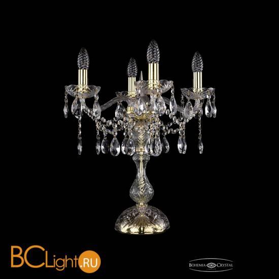 Настольная лампа Bohemia Ivele Crystal 1413L/4/141-47/G