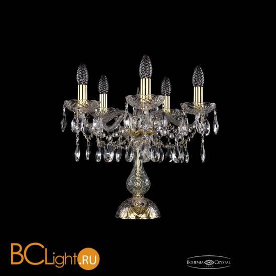 Настольная лампа Bohemia Ivele Crystal 1413L/5/141-39/G