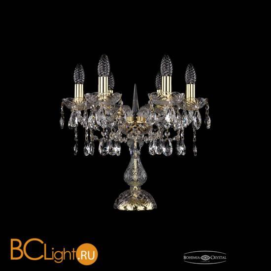 Настольная лампа Bohemia Ivele Crystal 1413L/6/141-39/G