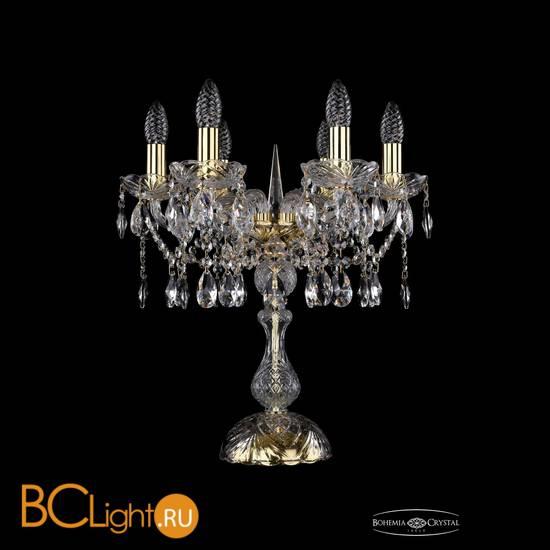 Настольная лампа Bohemia Ivele Crystal 1413L/6/141-47/G