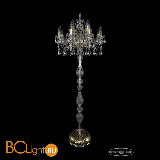 Торшер Bohemia Ivele Crystal 1413T1/8+4/200-165/G