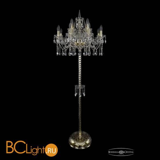 Торшер Bohemia Ivele Crystal 1413T2/8+4/200-165/G