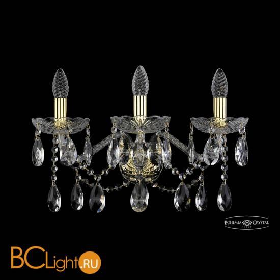 Бра Bohemia Ivele Crystal 1413B/3/200/XL/G