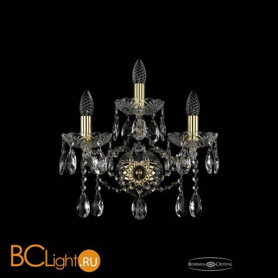 Бра Bohemia Ivele Crystal 1413B/2+1/165/XL/G