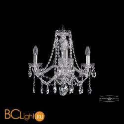 Люстра Bohemia Ivele Crystal 1413/3/165/Ni