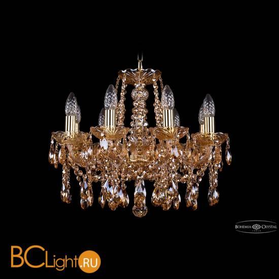 Люстра Bohemia Ivele Crystal 1413/8/165/G/M721