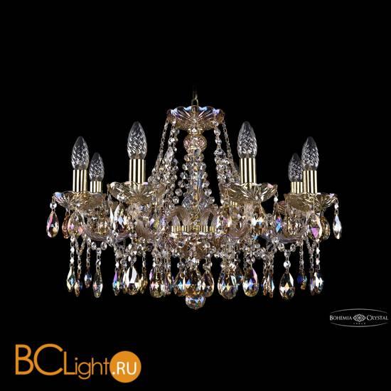 Люстра Bohemia Ivele Crystal 1413/8/200/G/M701