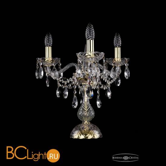Настольная лампа Bohemia Ivele Crystal 1415L/3/141-39/G
