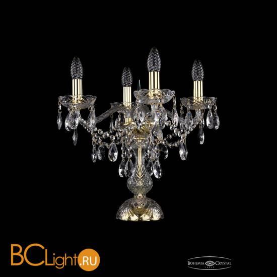 Настольная лампа Bohemia Ivele Crystal 1415L/4/141-39/G