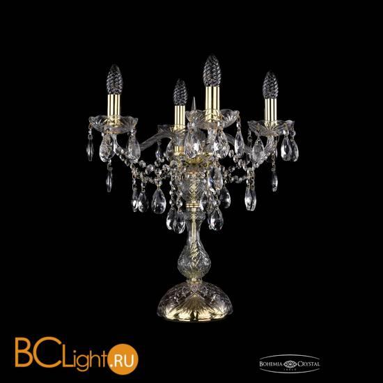 Настольная лампа Bohemia Ivele Crystal 1415L/4/141-47/G