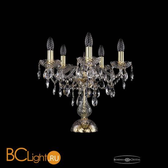 Настольная лампа Bohemia Ivele Crystal 1415L/5/141-39/G