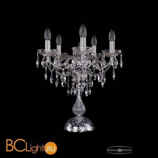 Настольная лампа Bohemia Ivele Crystal 1415L/5/141-47/Ni
