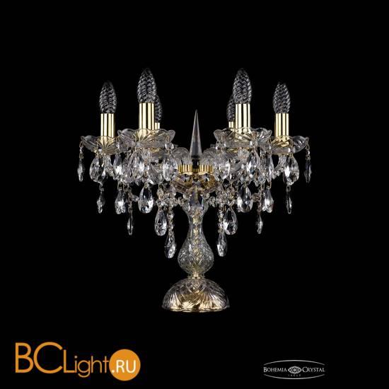 Настольная лампа Bohemia Ivele Crystal 1415L/6/141-39/G