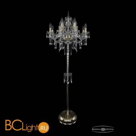 Торшер Bohemia Ivele Crystal 1415T2/8+4/200-165/G