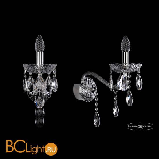Бра Bohemia Ivele Crystal 1415B/1/200/XL/Ni