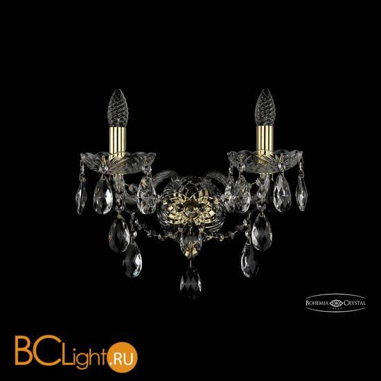 Бра Bohemia Ivele Crystal 1415B/2/165/XL/G