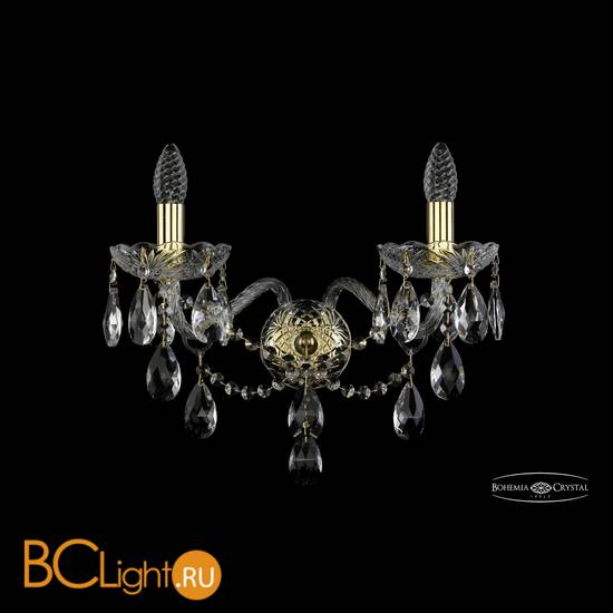 Бра Bohemia Ivele Crystal 1415B/2/200/XL/G