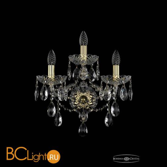 Бра Bohemia Ivele Crystal 1415B/2+1/165/XL/G