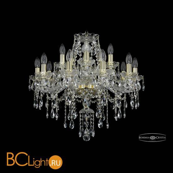 Люстра Bohemia Ivele Crystal 1415/10+5/220/G