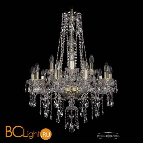 Люстра Bohemia Ivele Crystal 1415/10+5/220/h-86/G
