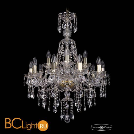 Люстра Bohemia Ivele Crystal 1415/10+5/220/XL-86/G