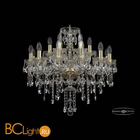 Люстра Bohemia Ivele Crystal 1415/12+6/220/G