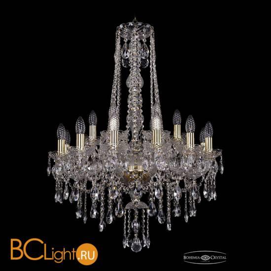 Люстра Bohemia Ivele Crystal 1415/12+6/220/h-86/G