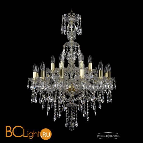 Люстра Bohemia Ivele Crystal 1415/12+6/220/XL-86/G
