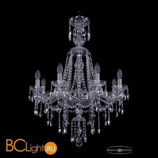 Люстра Bohemia Ivele Crystal 1415/8/220/XL-85/Ni