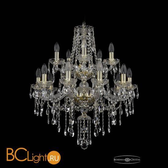 Люстра Bohemia Ivele Crystal 1415/10+5/220/2d/G