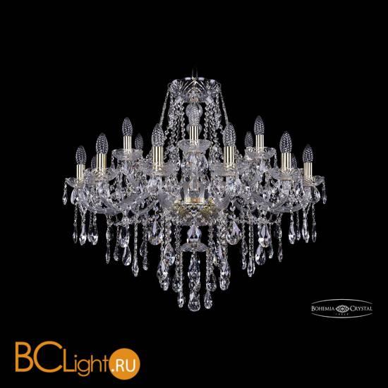 Люстра Bohemia Ivele Crystal 1415/12+6/300/G