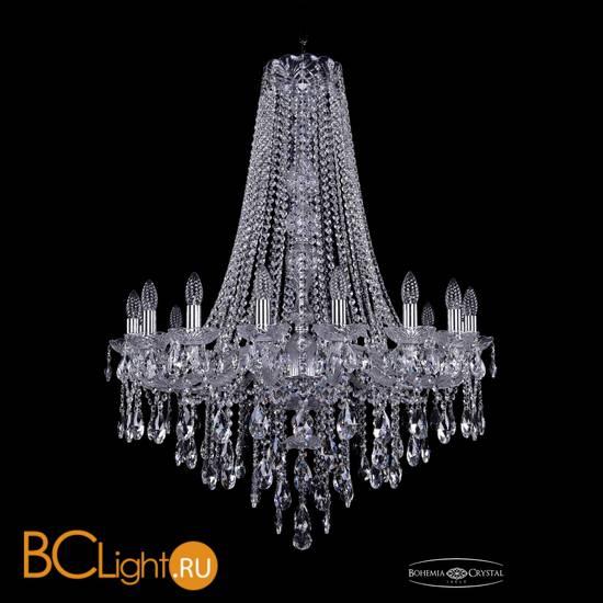 Люстра Bohemia Ivele Crystal 1415/16/300/h-108/Ni
