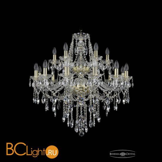 Люстра Bohemia Ivele Crystal 1415/12+6/300/2d/G