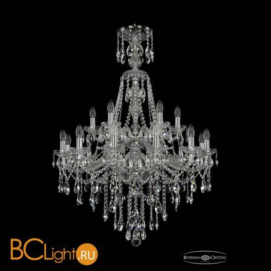 Люстра Bohemia Ivele Crystal 1415/12+6/300/XL-114/2d/Ni