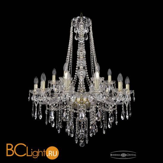 Люстра Bohemia Ivele Crystal 1415/12+6/300/h-108/G
