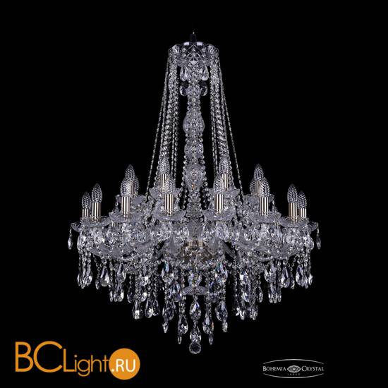 Люстра Bohemia Ivele Crystal 1415/16+8/300/h-106/Pa