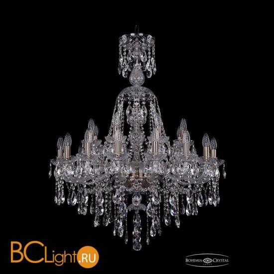 Люстра Bohemia Ivele Crystal 1415/16+8/300/XL-106/Pa