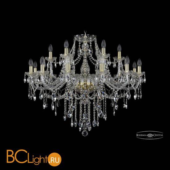 Люстра Bohemia Ivele Crystal 1415/12+6/360/G