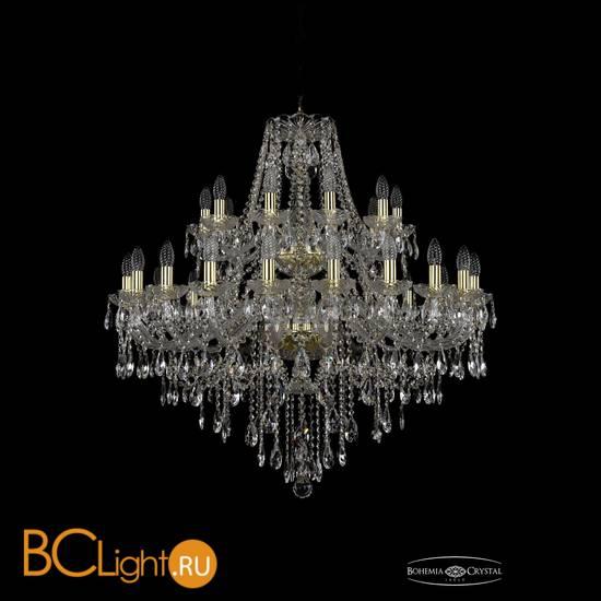 Люстра Bohemia Ivele Crystal 1415/20+10/360/2d/G
