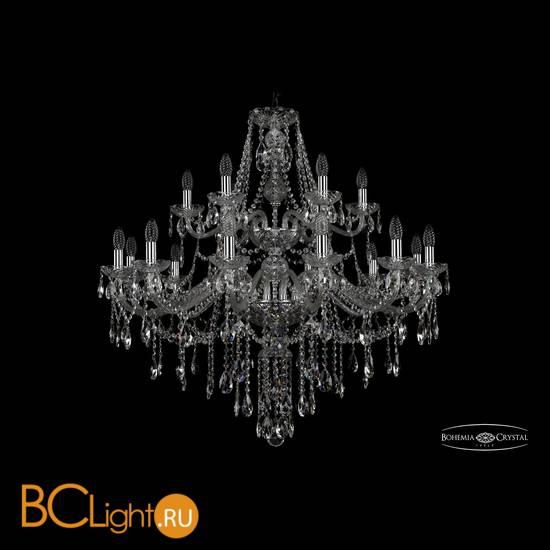 Люстра Bohemia Ivele Crystal 1415/12+6/360/2d/Ni
