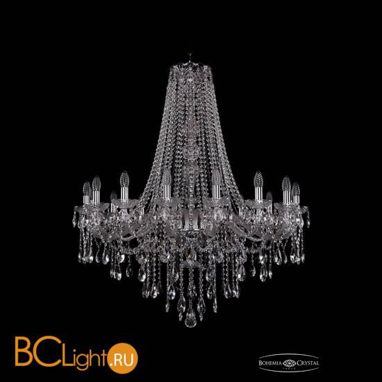 Люстра Bohemia Ivele Crystal 1415/16/360/h-112/Ni