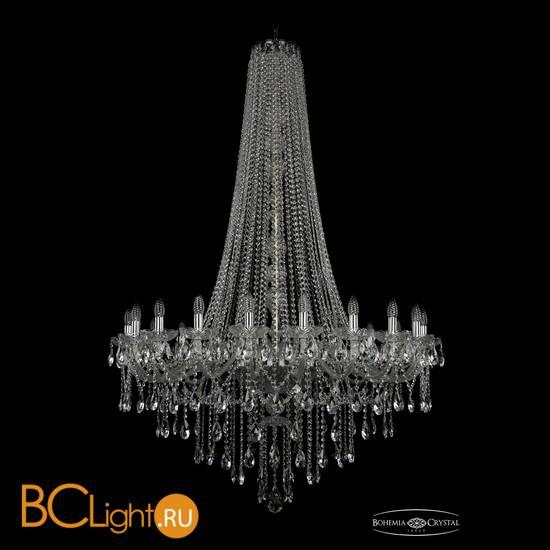 Люстра Bohemia Ivele Crystal 1415/20/400/h-173/Ni