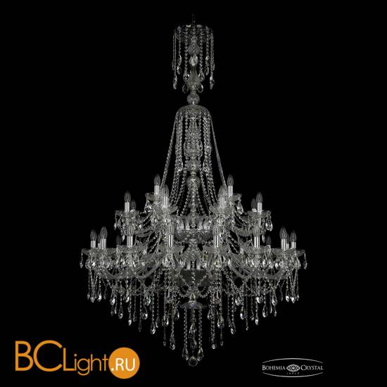 Люстра Bohemia Ivele Crystal 1415/16+8+4/400/XL-185/2d/Ni