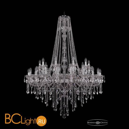 Люстра Bohemia Ivele Crystal 1415/20+10/400/h-154/Ni