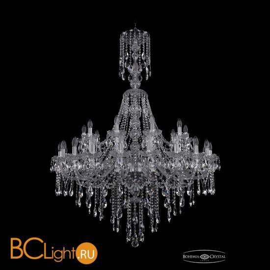 Люстра Bohemia Ivele Crystal 1415/20+10/400/XL-154/Ni