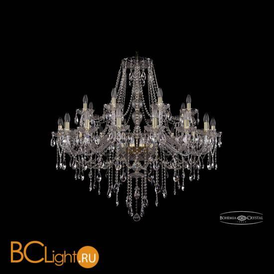 Люстра Bohemia Ivele Crystal 1415/16+8/400/G