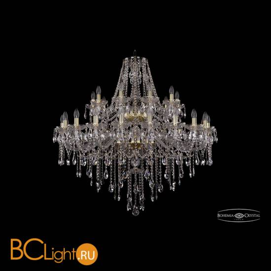 Люстра Bohemia Ivele Crystal 1415/20+10/400/2d/G